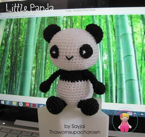 Super Cute Panda Crochet Patterns You Will Love | The WHOot | 450x476