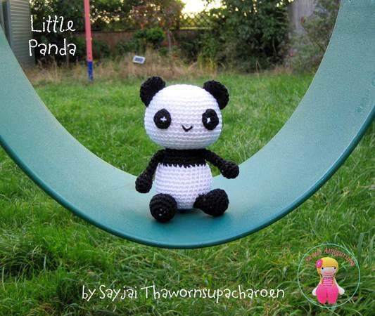 Gratis Panda Häkeln Klein Und Niedlich