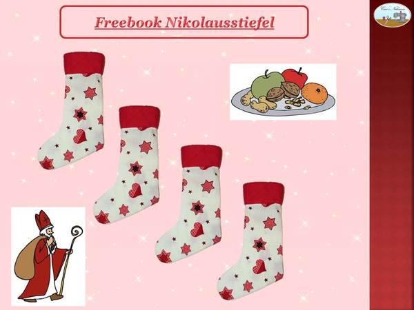 E Book Kostenlose Anleitung Nikolausstiefel Socke