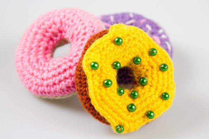 Amigurumi Spielzeug Donuts Häkeln Häkelanleitung