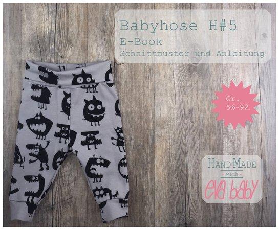 399ca6c654 E-Book Babyhose H#5 Gr. 56-92