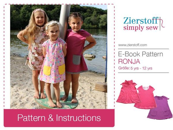 RONJAs dress / tunic, sizes 110 – 152 / 5-12 years