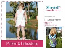 BETTYs dress / tunic top – sizes 62-104 / 6 mo.- 4/5 yrs.