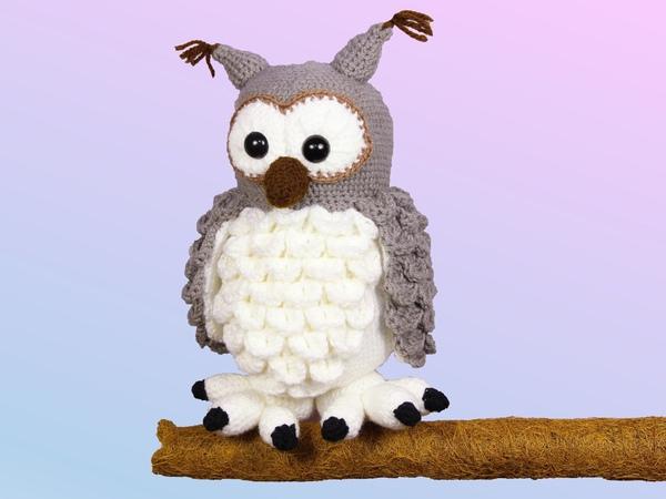 Großhandel Handmake Doctorette Die Eule Amigurumi Crochet ... | 450x600
