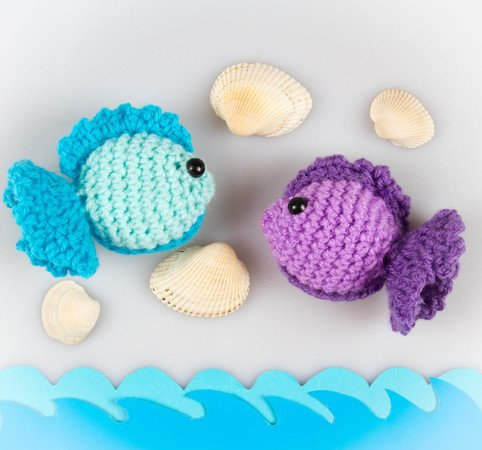 Fisch Häkeln Toll Als Kinderspielzeug
