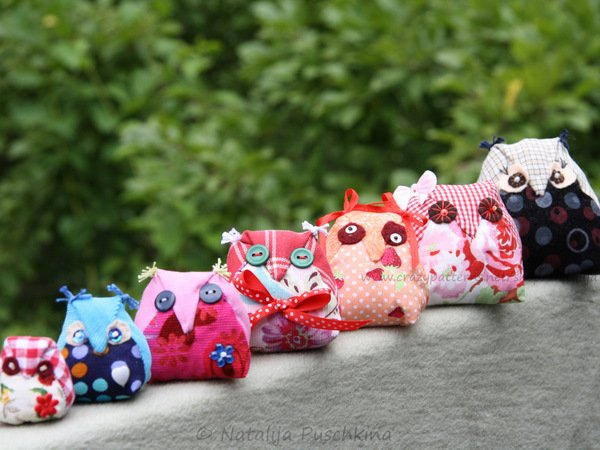 No Sewing Machine...Hand Sewing Pdf Pattern owl family