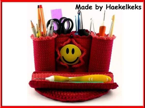 Pencil Case Free Crochet Pattern By Haekelkeks English Version