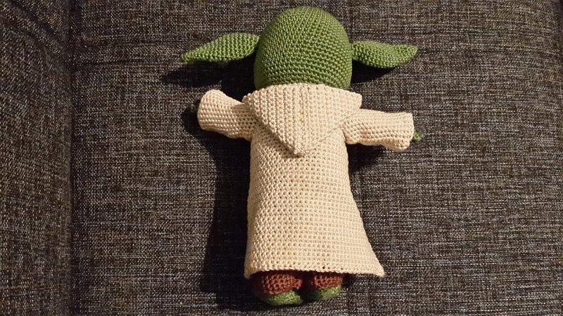 Häkelanleitung Yoda