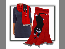 Funky Cat Scarf