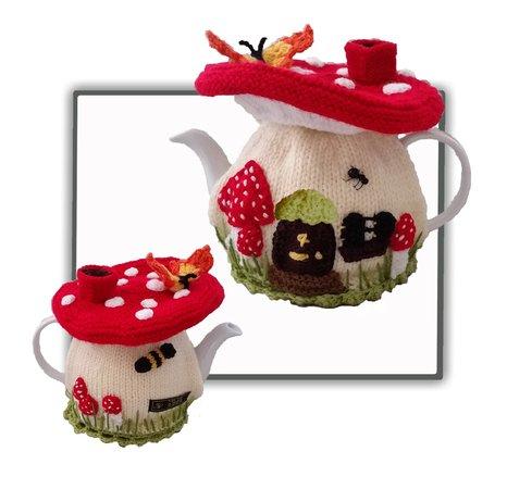 Fairy Mushroom Tea Cosy