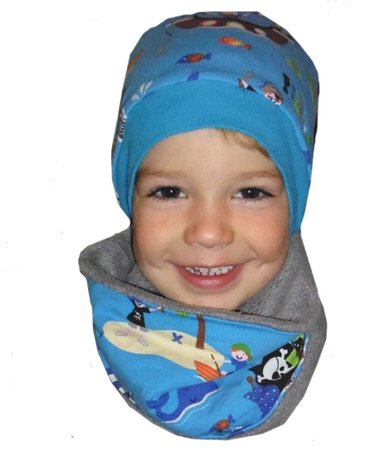 DANIELs & DANIELAs unisex beanie pattern – simple or reversible, with or without a knitted cuff, sizes 45-57 (3 mo.-14 yrs.)