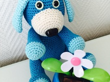 Crochet Pattern Dog Teddy Charles