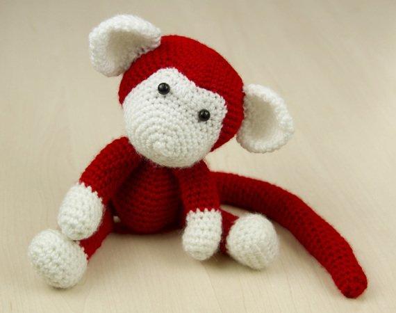 Amigurumi Puppe Affe Häkeln Häkelanleitung Diy