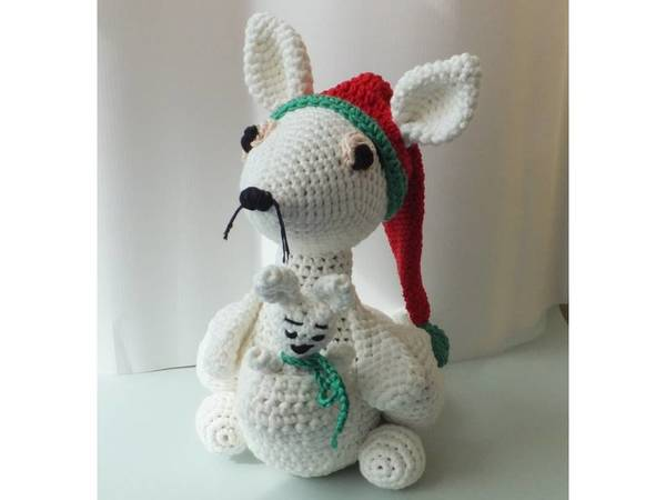 Kangaroo Pouch Knitting Pattern : kangaroo crochet pattern