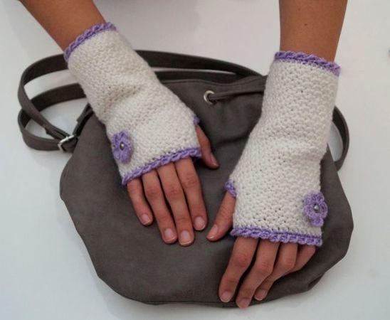 Stulpen Häkeln Fingerlose Handschuhe Häkeln