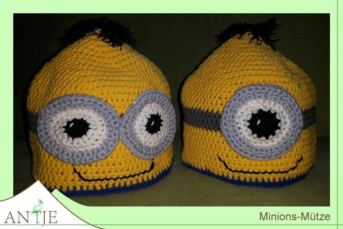Supercoole Minions Mütze