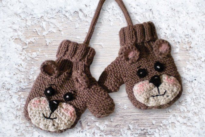 Knitting Tutorial Baby and Toddler Gloves