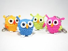 Owl - Key Chain - Bag Dangler - Crochet Pattern