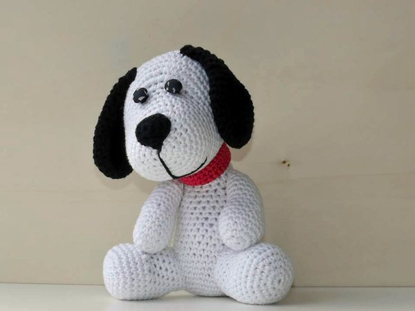 hund h keln welpe h keln amigurumi deko diy. Black Bedroom Furniture Sets. Home Design Ideas