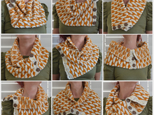 Marcelline's Cowl & Scarf