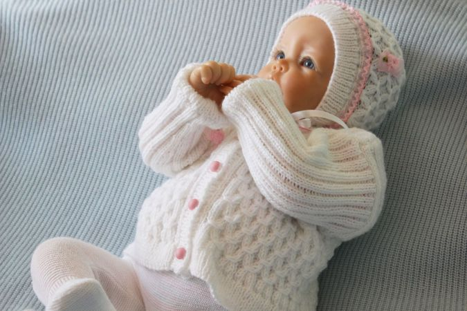 Baby Knitting Patterns With Instructions : Baby Jacket Knitting Pattern