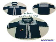 Baby-Strickjacke JAKOB plus Loop