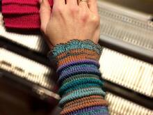 "Wristlets with tucks ""Tucklets"": pattern for Passap DM80 *Pattern for Knitting Machine*"