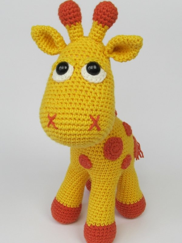 Instructions for crocheting a giraffe / DIY