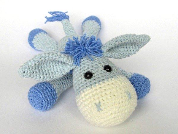 Donkey Ruda Amigurumi Crochet Pattern