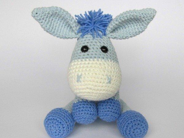 Knitting Patterns Donkeys Free : Donkey Ruda Amigurumi Crochet Pattern