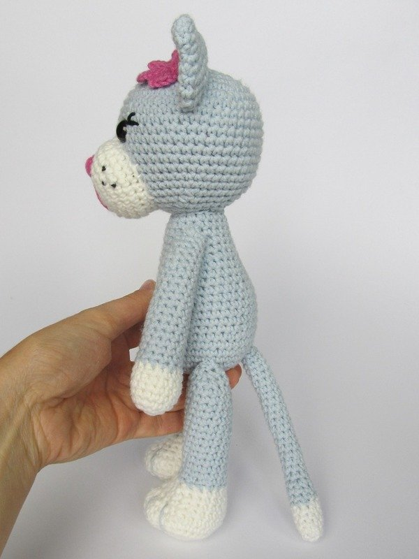 Crochet Amigurumi Kitty : Kitty Ela Amigurumi Crochet Pattern