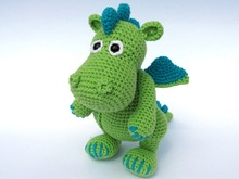 Dragon Draco Amigurumi Crochet Pattern