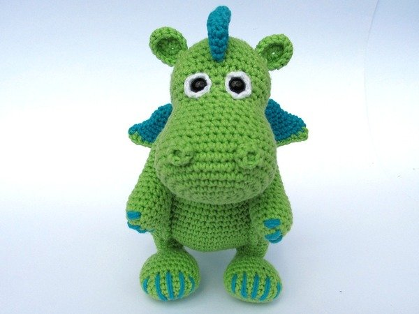 Knitting Amigurumi For Beginners : Dragon Draco Amigurumi Crochet Pattern