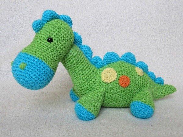 My Friend Dinosaur Dino Amigurumi Crochet Pattern