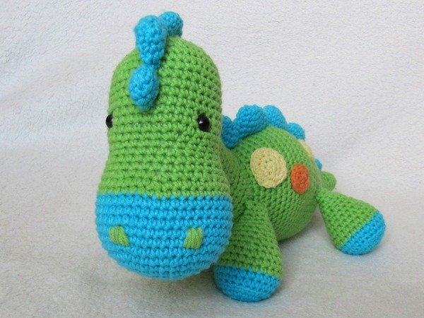 Amigurumi Dinosaur Pattern Free : My Friend Dinosaur Dino Amigurumi Crochet Pattern