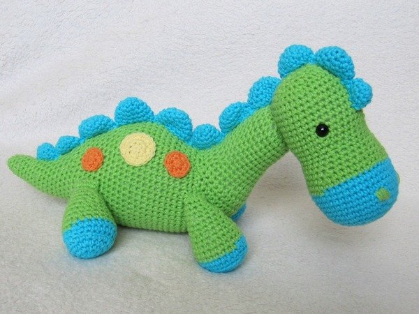 My Friend Dinosaur Dino Amigurumi Crochet Pattern