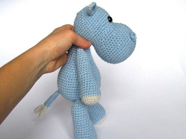 Free Amigurumi Hippo Pattern : Hippo timi amigurumi crochet pattern