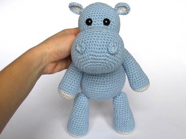 Amigurumi Hippo Free Pattern | 450x600
