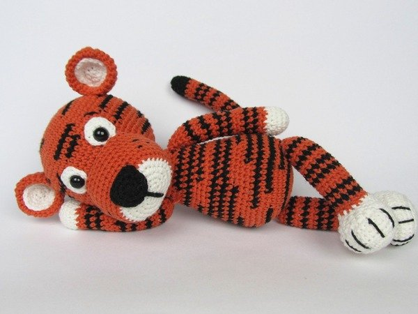 Amigurumi Patterns Tiger : Little Tiger Tomy Amigurumi Crochet Pattern