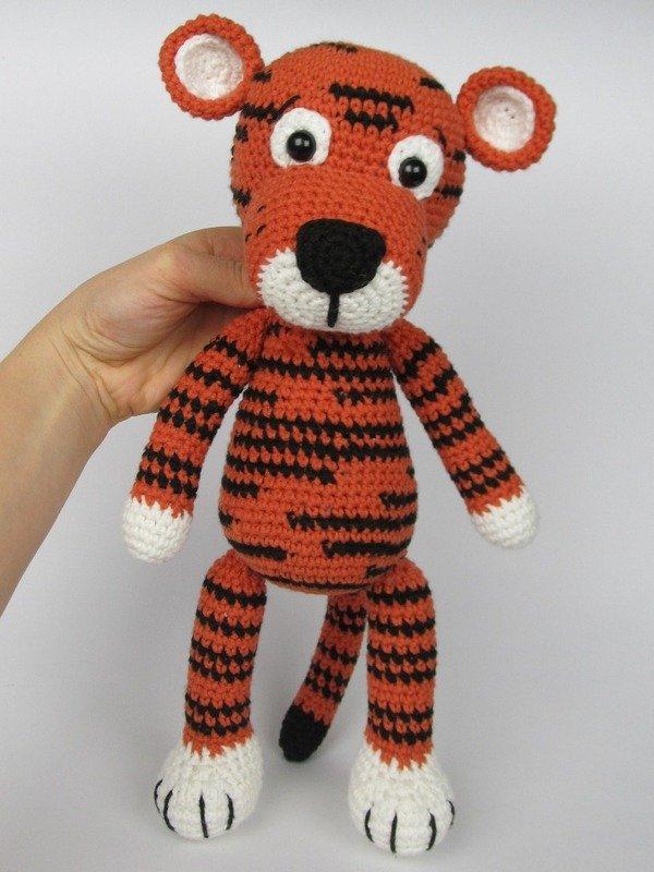 Little Tiger Tomy Amigurumi Crochet Pattern
