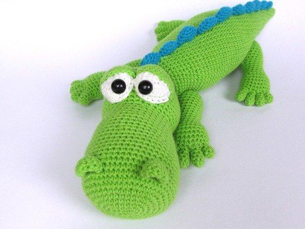Amigurumi Alligator Free Pattern : Crocodile Alfred Amigurumi Crochet Pattern