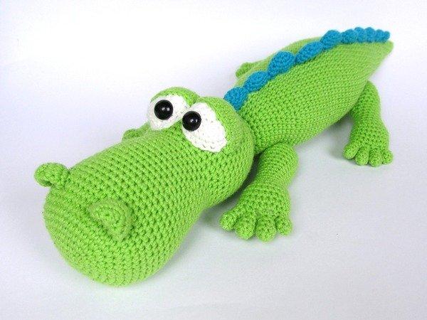 Crocodile Alfred Amigurumi Crochet Pattern