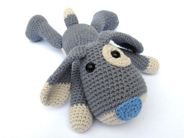 Amigurumi Crochet Tools : Puppy Hafi Amigurumi Crochet Pattern