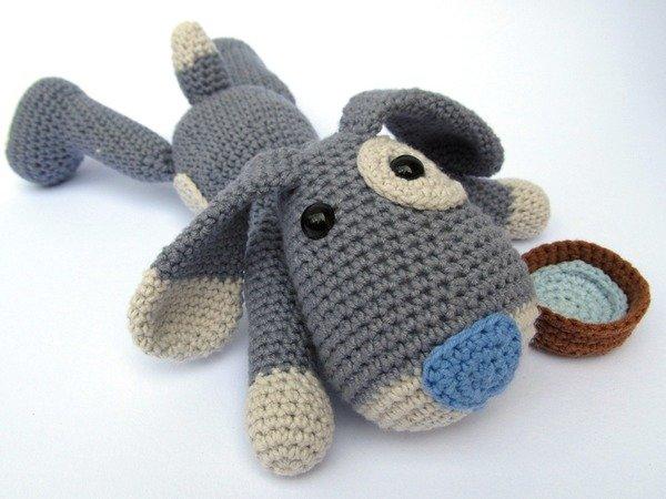 Puppy Hafi Amigurumi Crochet Pattern