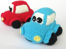 Happy Car Amigurumi Crochet Pattern