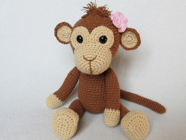 Sweet Monkey Julie Amigurumi Crochet Pattern