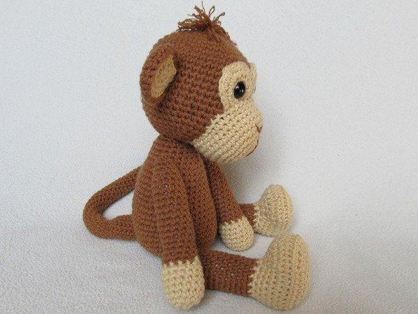 Amigurumi To Go Monkey : Sweet Monkey Julie Amigurumi Crochet Pattern