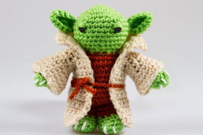 Häkelanleitung Amigurumi Yoda Star Wars