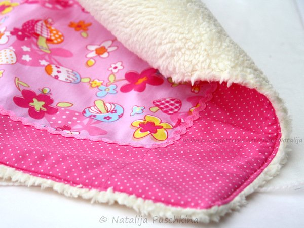 Sleeping Set for the Dolls - easy Sewing Pattern