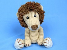 My Friend Lion Leo Amigurumi Crochet Pattern